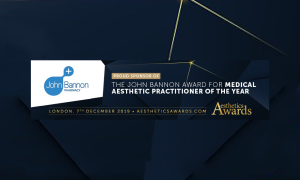 Aesthetic Awards Banner