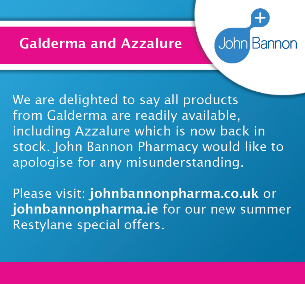 Galderma and Azzalure announcement